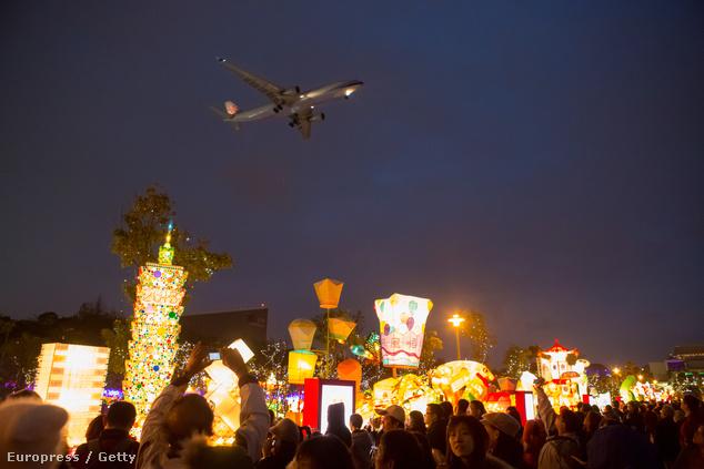 Taiwani Lámpás Fesztivál