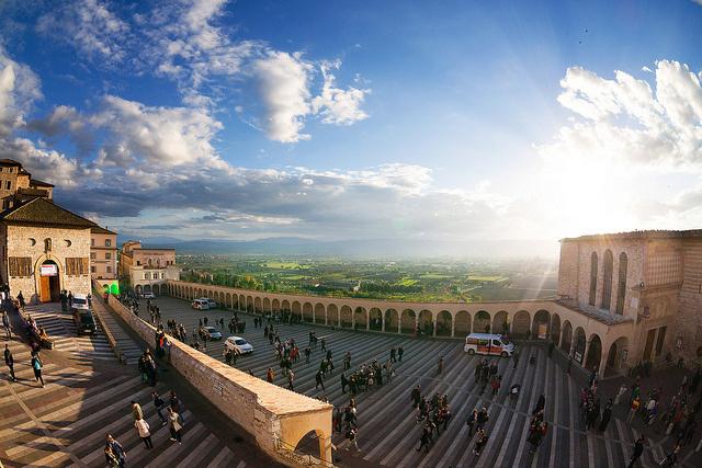 Szent Ferenc Bazilika - Assisi