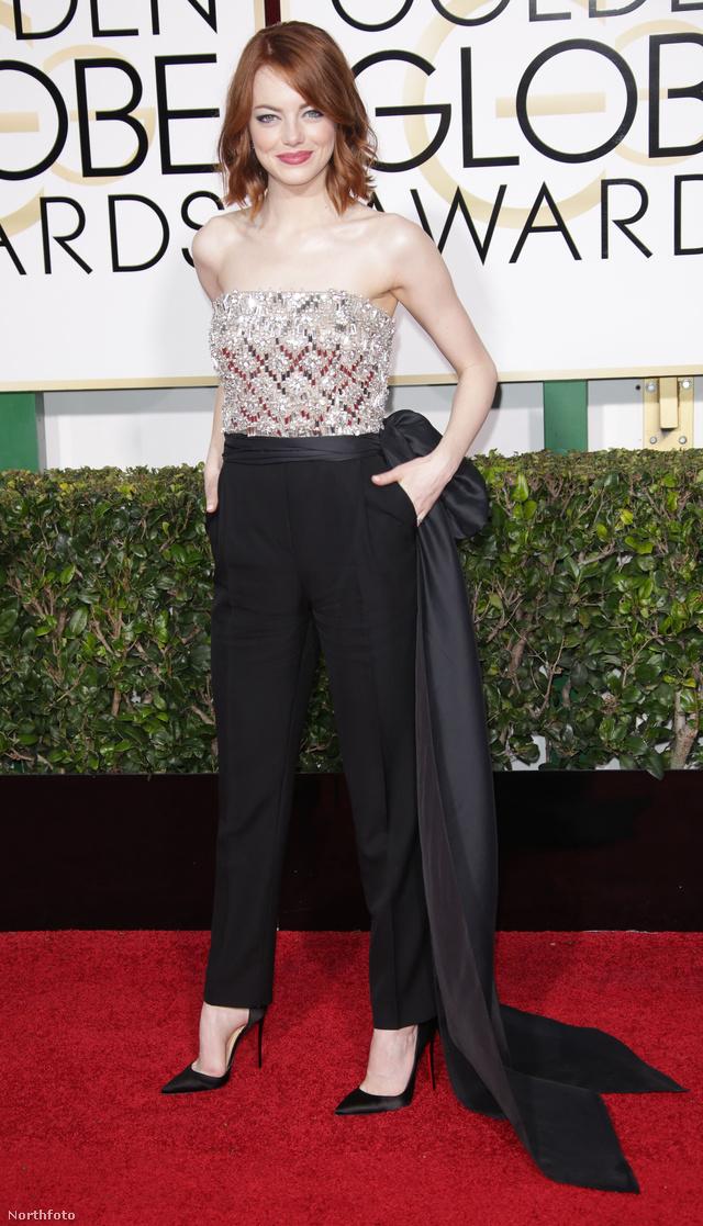 Emma Stone az egyik kedvencünk Lanvin ruhában.
