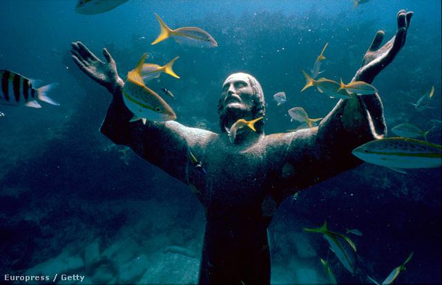 A Mélység Krisztusa, Portofino, Olaszország