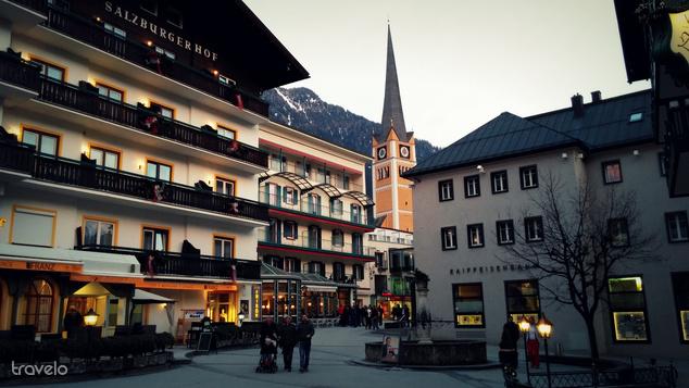 Bad Hofgastein, sétálóutca