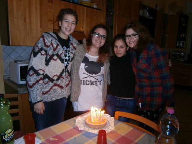 18. születésnap az olasz osztálytársakkal