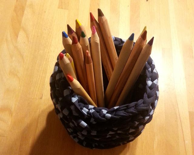 De teljesen jó a gyerek ceruzáinak tárolására is