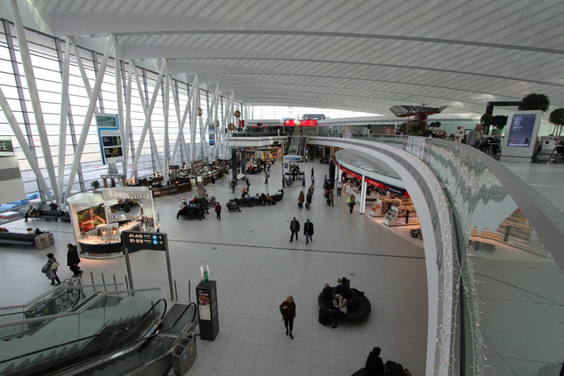 A Skycourt a budapesti reptéren
