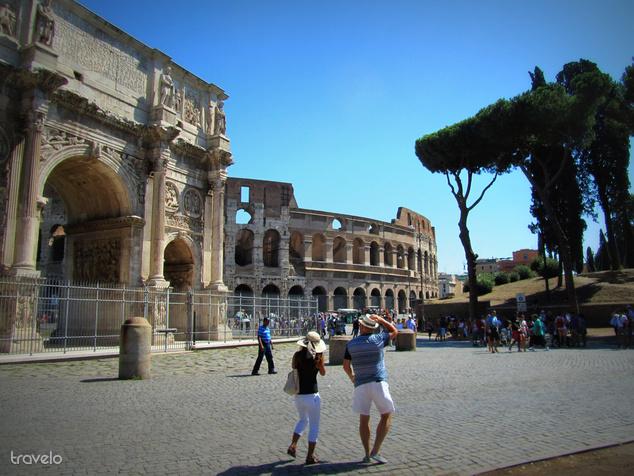 Róma volt a legnépszerűbb külföldi város