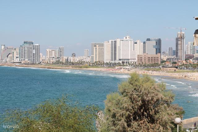Kilátás Tel-Avivra