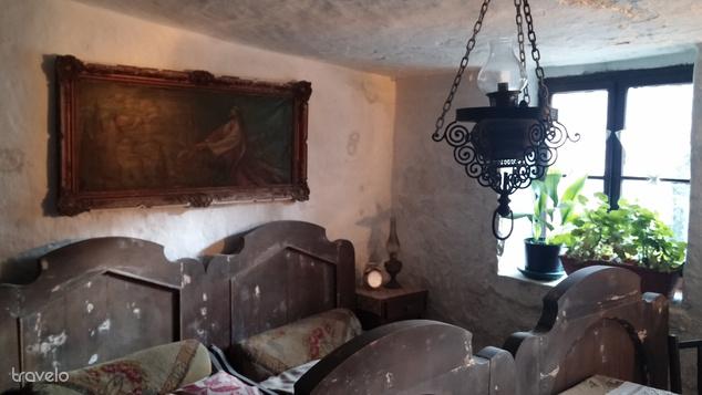 Hálószoba a budafoki barlanglakásban - sokkal rosszabbra számítottunk