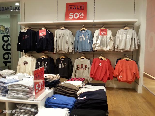 Gap: 7790 forint és mindenki tudja, hol vásárol.