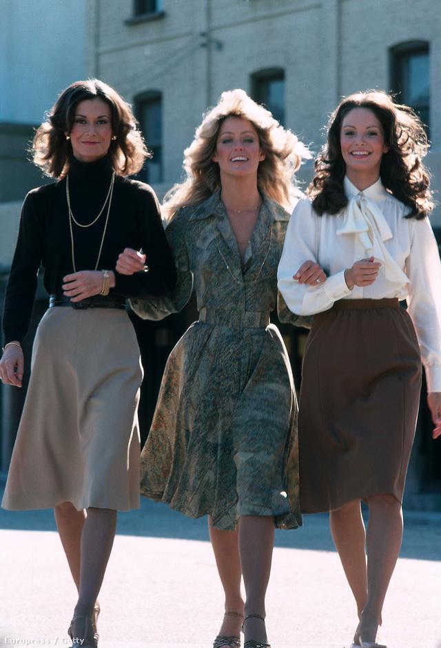 1970-es évek: Kate Jackson, Farrah Fawcett és Jaclyn Smith