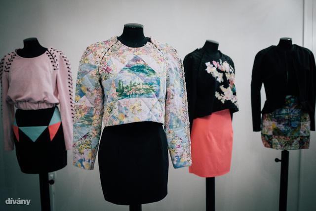 Sármán Nóra Biedermeier ihletettségű ready-to-wear kollekcióval jelentkezett ősszel.