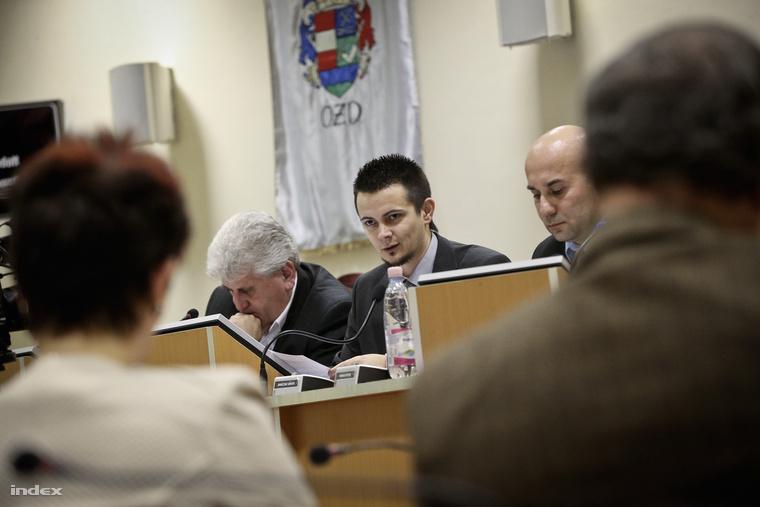 Janiczak Dávid a január 29-i képviselő-testületi ülésen