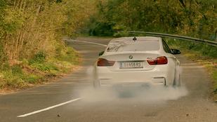 Az autó, amellyel nem lehet épeszűen közlekedni. – BMW M4