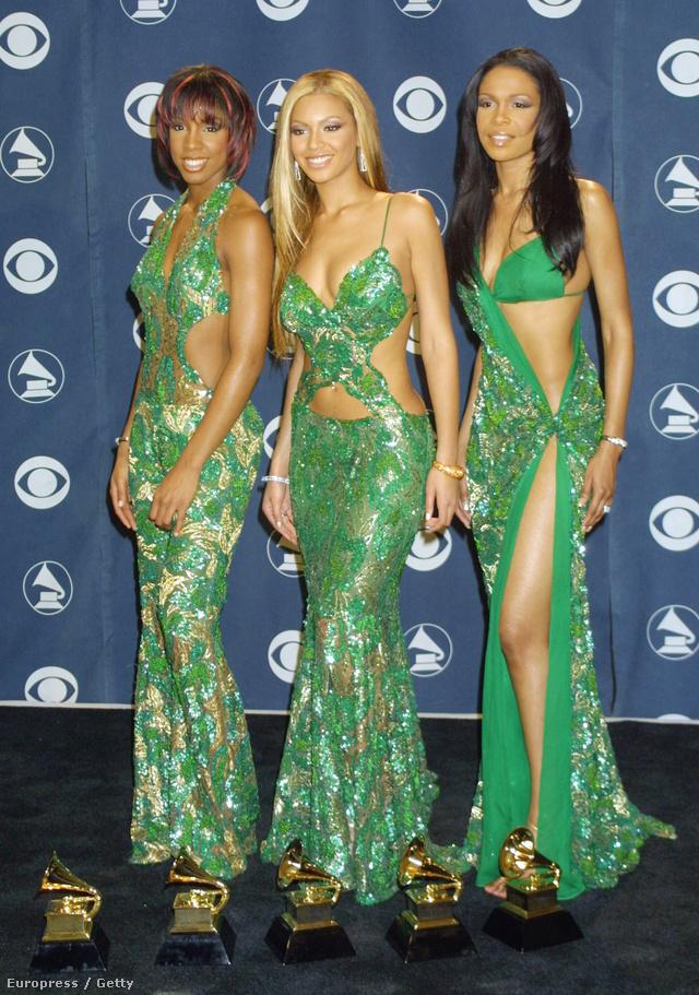 Destiny's Child, 2001: elég kár, hogy feloszlottak, pedig az összehangolt szerelések jól mutattak a rengeteg Grammyvel!