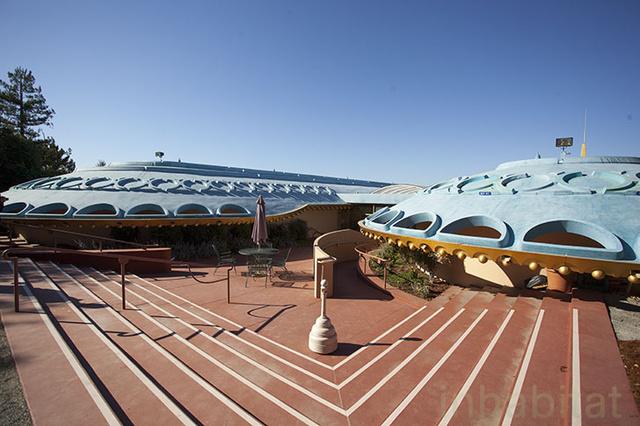 A látványos Marin County Civic Center Kaliforniában található.