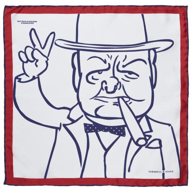 A selyemből készült díszzsebkendők 75 fontba, 30 ezer forintba kerülnek