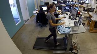 Van értelme a futógépes íróasztalnak?