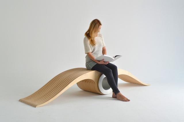 A 2015-ös torontói Interior Design Show tíz legjobb munkája között tartották számon a Designarium nevű márka kreatív igazgatójának és tervezőjének, Stéphane Leatheadnek legújabb formabontó ötletét.
