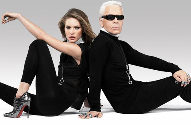 Naná, hogy Karl Lagerfeld ebben is az élen járt.