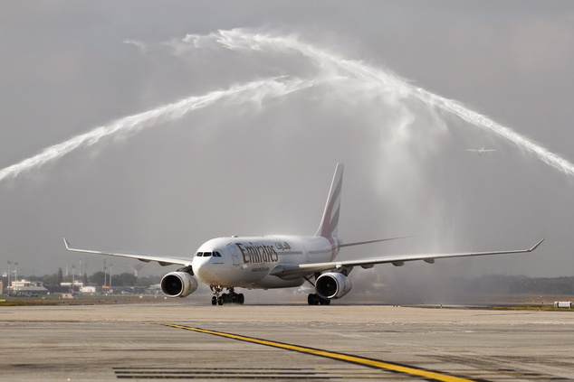 Az első Emirates-gép Budapesten