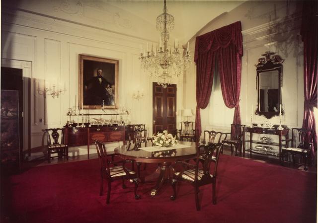 Így nézett ki a terem 1952-ben Truman elnöksége alatt.