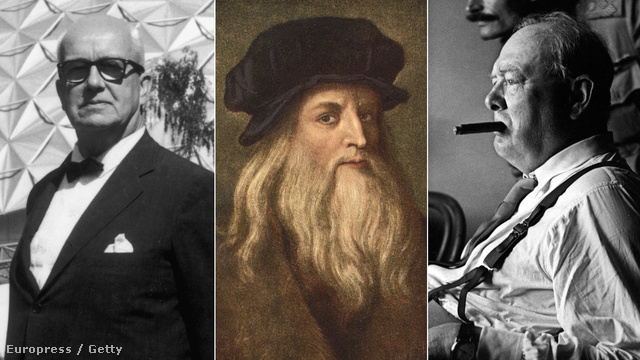 Richard Buckminster Fuller, Leonardo Da Vinci és Winston Churchill