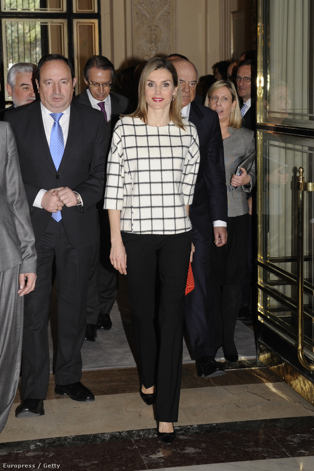 01 Queen Letizia of Spain attends X anniversary of Fundeu BBVA a