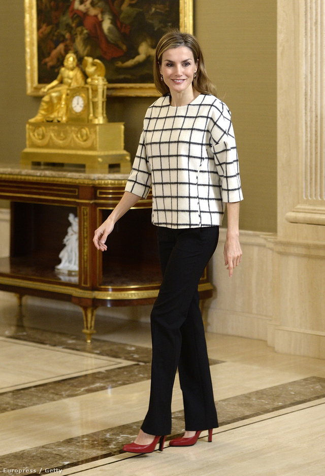 02 Queen Letizia of Spain attends several audiences at Zarzuela