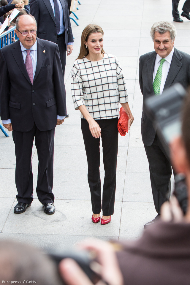 03 Queen Letizia of Spain attends the Red Cross Fundraising day