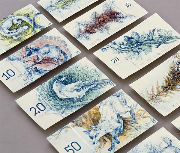Futótűzként terjedt a közösségi oldalakon annak a mesterképzős magyar grafikusnak a diplomamunkája, aki megmutatta, hogy milyennek szeretné látni a magyar eurót, ha az lenne a fizetőeszközünk.