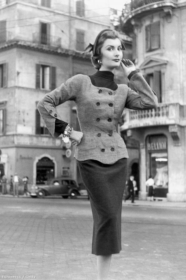 Így öltöztek a nők az ötvenes években.