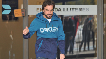 Három napon múlik Alonso indulása
