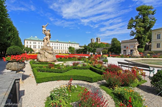 Mirabell-kastély, Salzburg