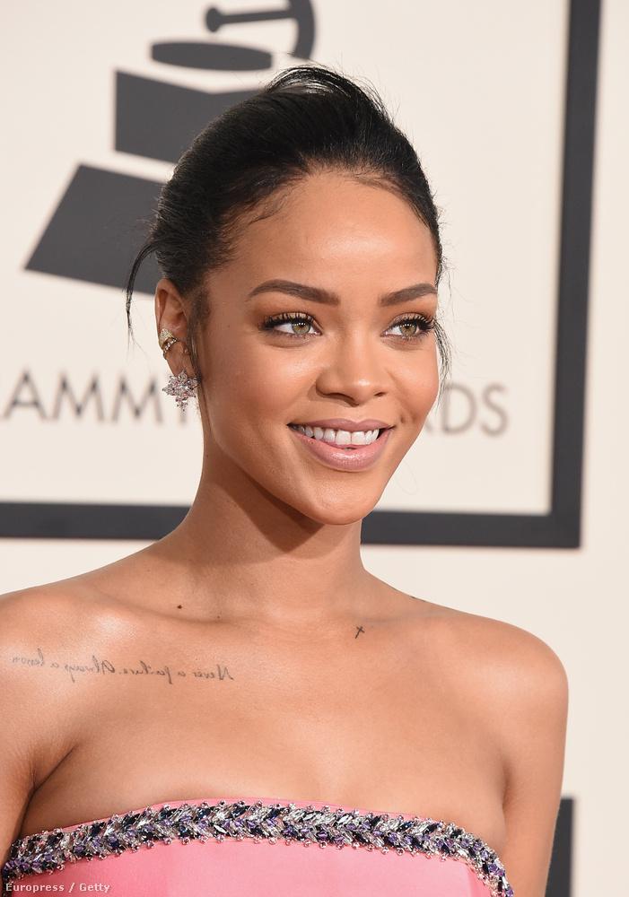 Rihanna általában így néz ki