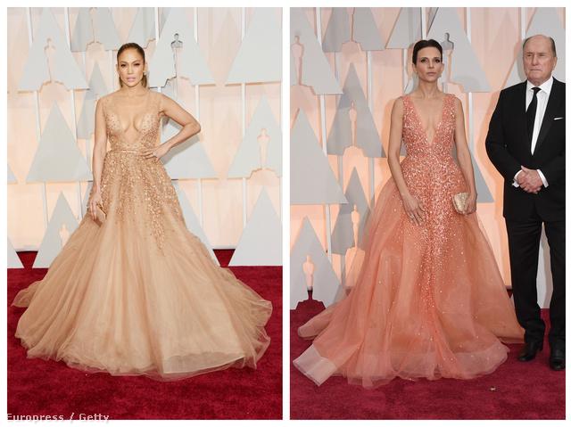 Jennifer Lopez és Luciana Pedraza az Oscaron