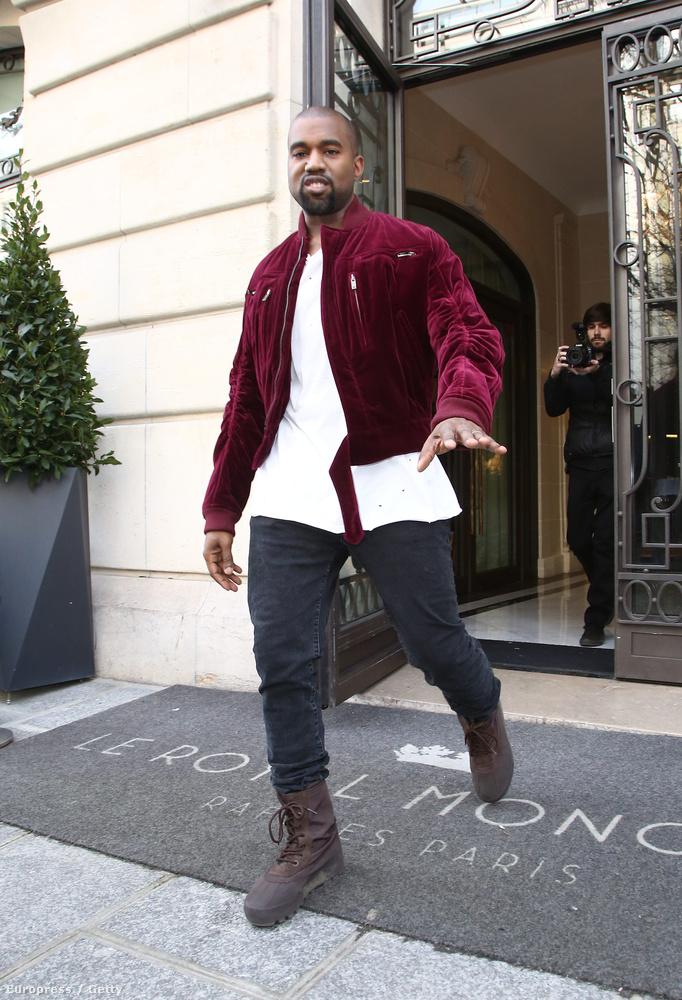 Kanye West nem boldog