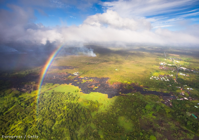 Helikopteres vulkántúra Hawaii-on