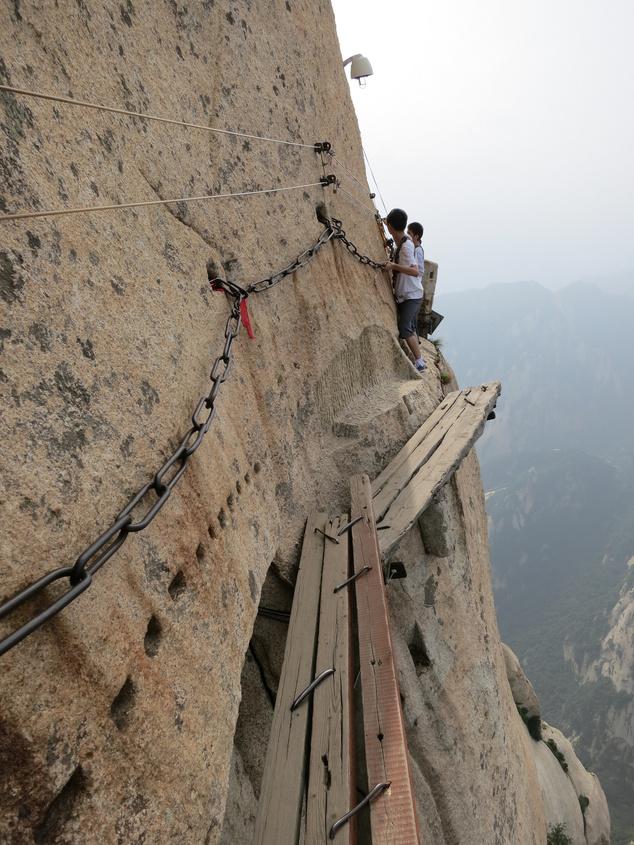 Mount Hua Shan, Kína