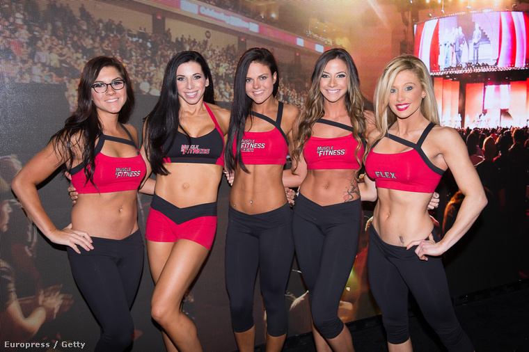 A hétvégén Ohióban megtartották az Arnold Sports Festivalt, amin nők is voltak