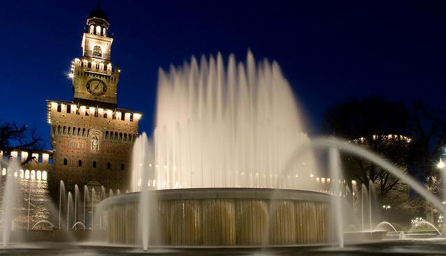 A milánói Castello Sforzesco
