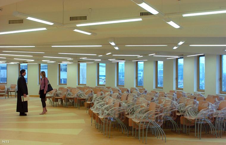 A Budapesti Kommunikációs Főiskola (BKF) épületében