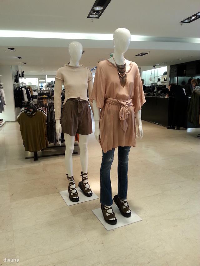 Zara: Hoppá, egy trapézos nadrág. Mondjuk mi nem így hordanánk.