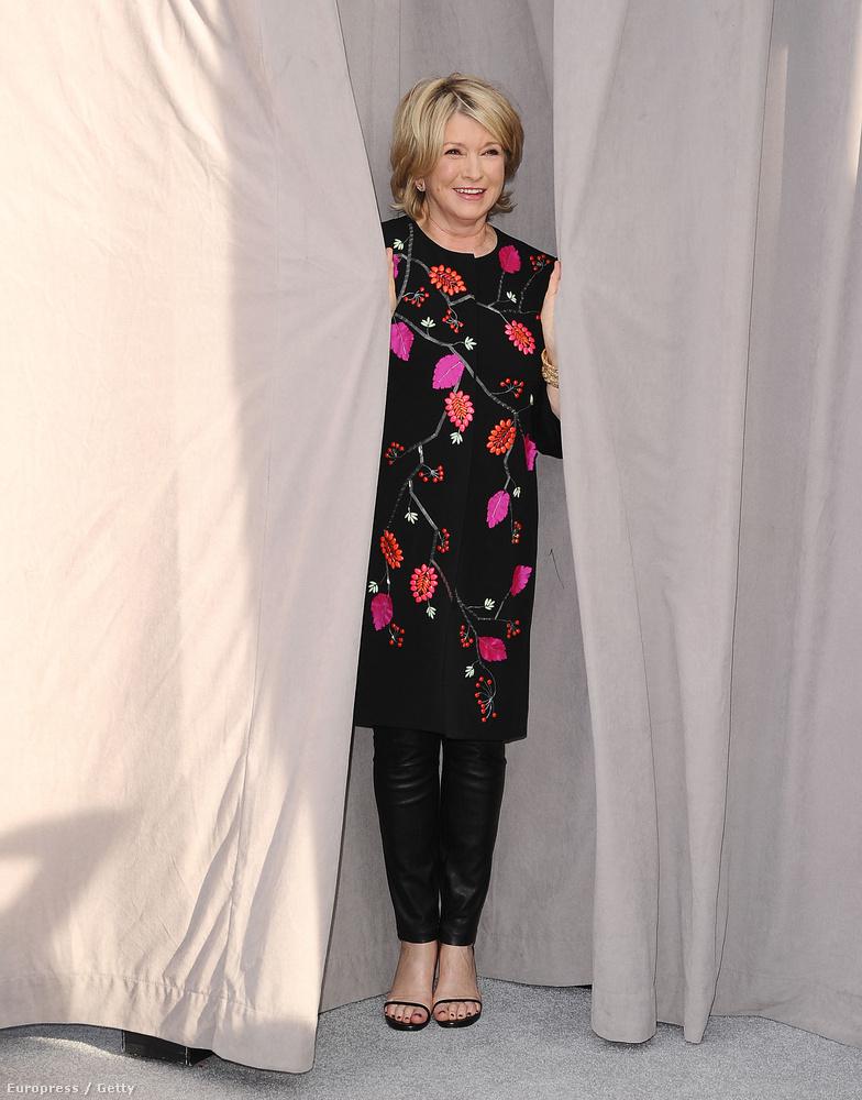 Martha Stewart mégis mit keres egy vicces eseményen? - kérdezhetné bárki, aki azt hiszi, hogy a főzés nagyasszonya tök sótlan lehet