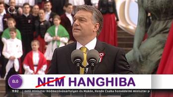 Véletlenül kiszivárgott az Orbán-beszéd eltitkolt hangsávja
