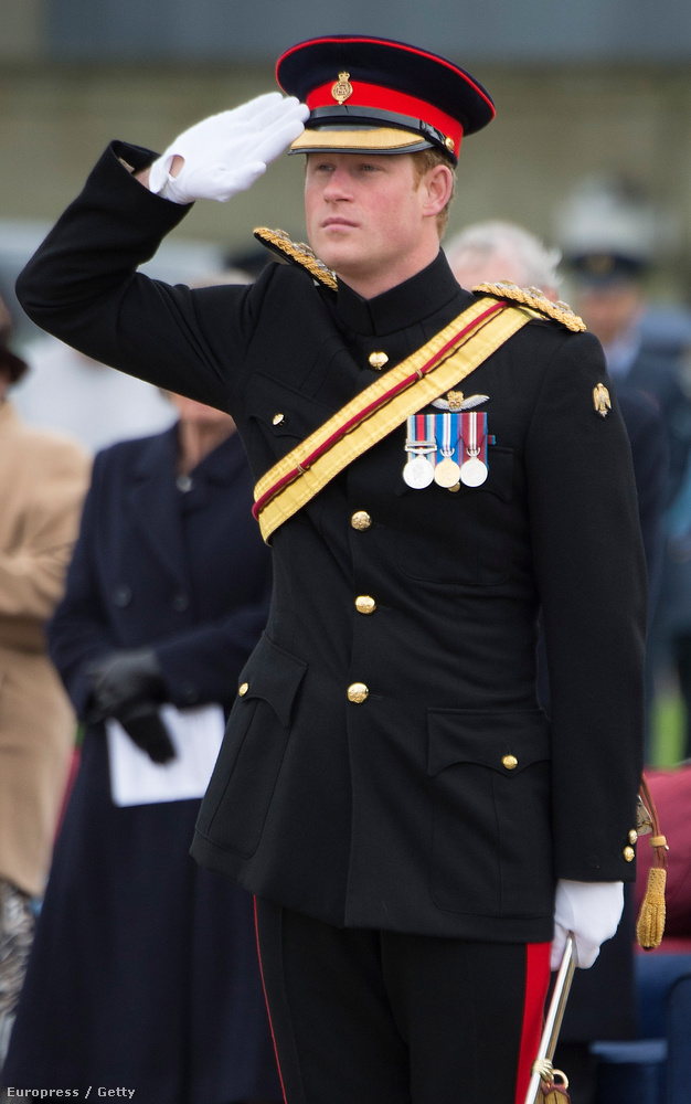 Ezzel a képpel búcsúznánk a katona Harry hercegtől, felejthetetlen tíz év volt.