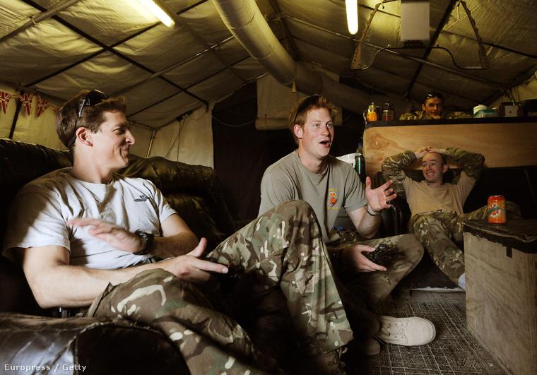 Vissza Afganisztánba, ez itt a laktanya.