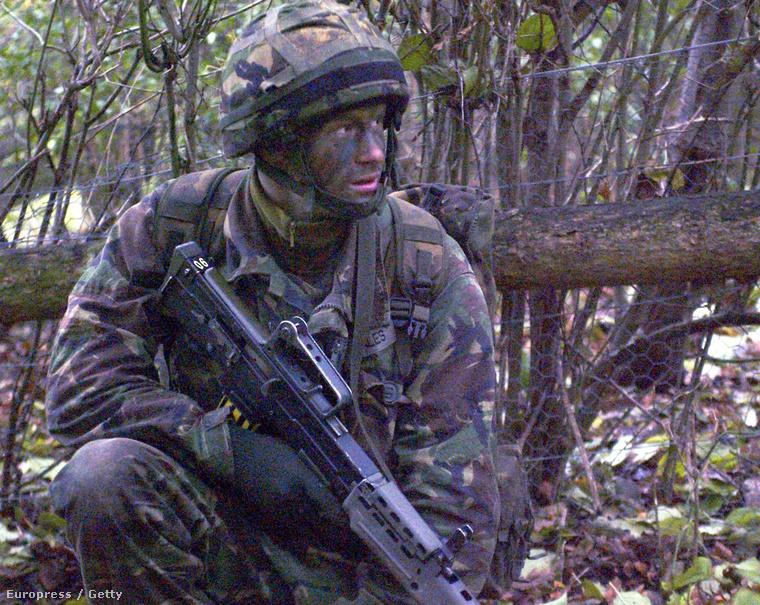 2005-ben 21 évesen még csak gyakorlatozott, de már itt egyértelműnek tűnt, hogy jól áll neki a Rambo vonal.
