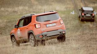 Két kicsi-nagy autó mindenkinek? Jeep Renegade, Škoda Fabia