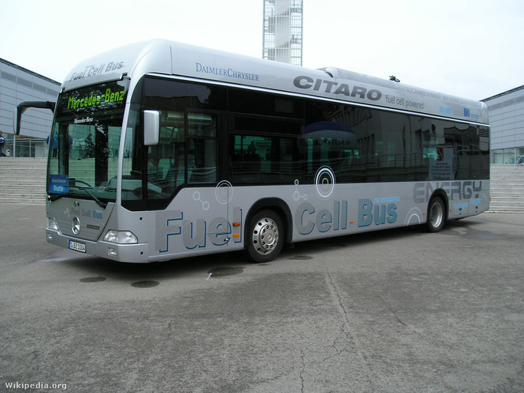 Fuel cell bus in Brno