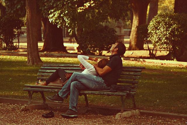 Szieszta a Villa Borghese parkjában