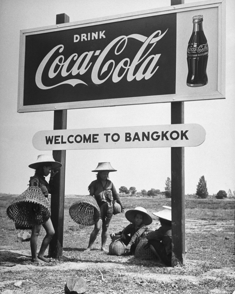 1950 - Kólareklám Bangkokban